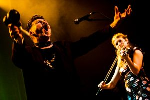 Jerry Fish & Claudia Schwab - Turning Pirate Mix Tape - Vicar St 2011
