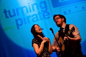 Lisa Hannigan & John Smith - Turning Pirate Mix Tape - Vicar St 2011